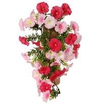 Sztuczny kwiat Petunia różowy, 40 cm