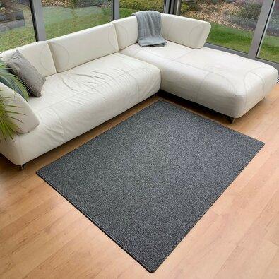 Kusový koberec Porto antracit, 80 x 150 cm