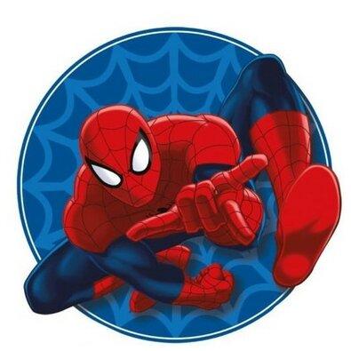 Tvarovaný polštářek Spiderman 01, 34 x 30 cm