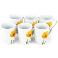 Domestic Tulip bögrekészlet, 310 ml, 6 db
