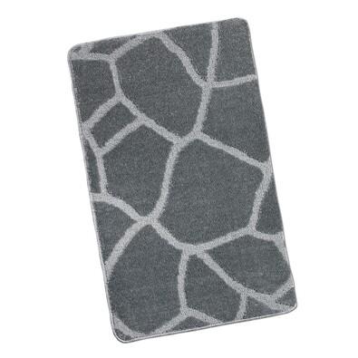 Koupelnová předložka Zeď, šedá, 60 x 100 cm