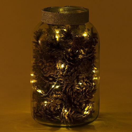 Fényfüzér Clairon 100 LED, meleg fehér