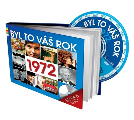 Byl to váš rok 1972, DVD a kniha, vícebarevná