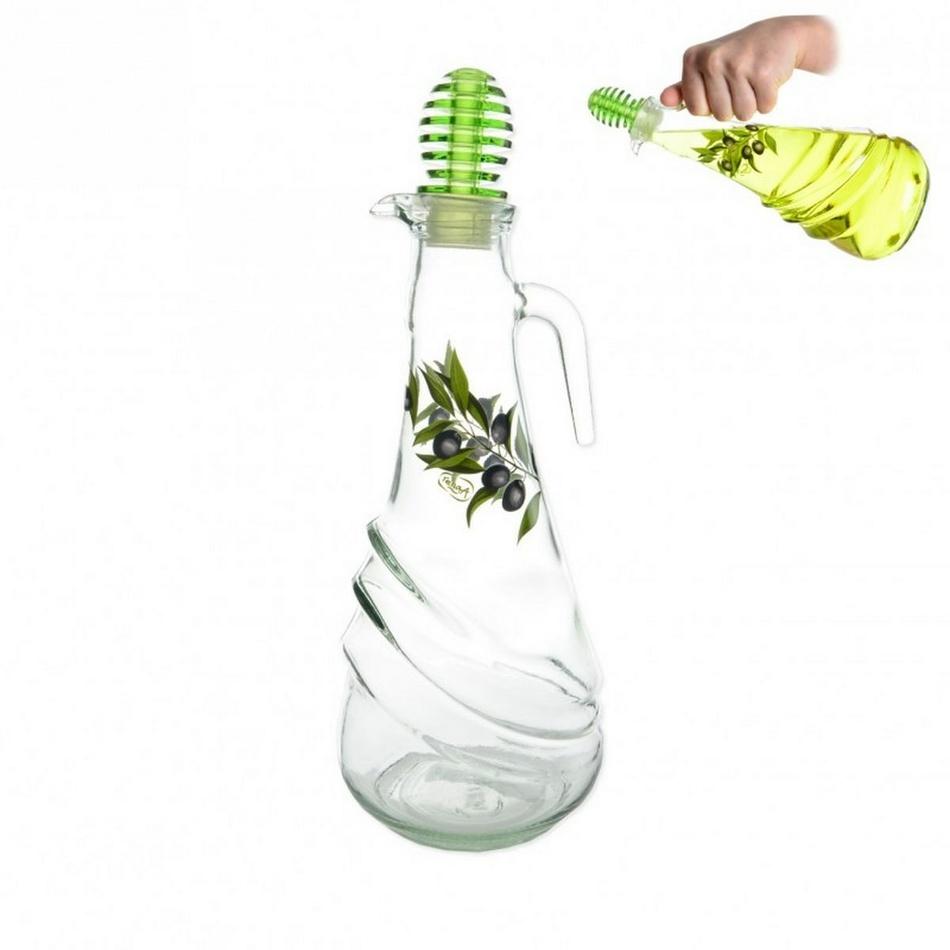 OLIV sklenená fľaša na ocot / olej 1 l, orion 126515