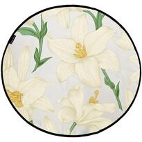 Butter Kings Bawełniany dywan do zabawy Lilies, 130 cm