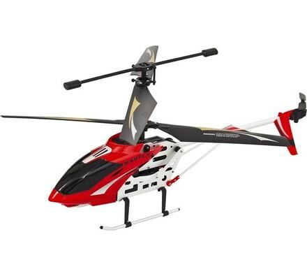 Venkovní tříkanálový 38 cm vrtulník, Buddy Toys, bílá + červená