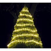 Vánoční řetěz, bílá, 900 cm