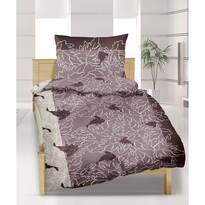 Lenjerie pat 2 pers. Viţă de vie, creponată