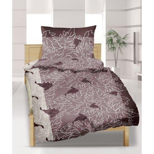 Lenjerie pat 2 pers. Viţă de vie, creponată, 240 x 220 cm, 2 buc. 70 x 90 cm