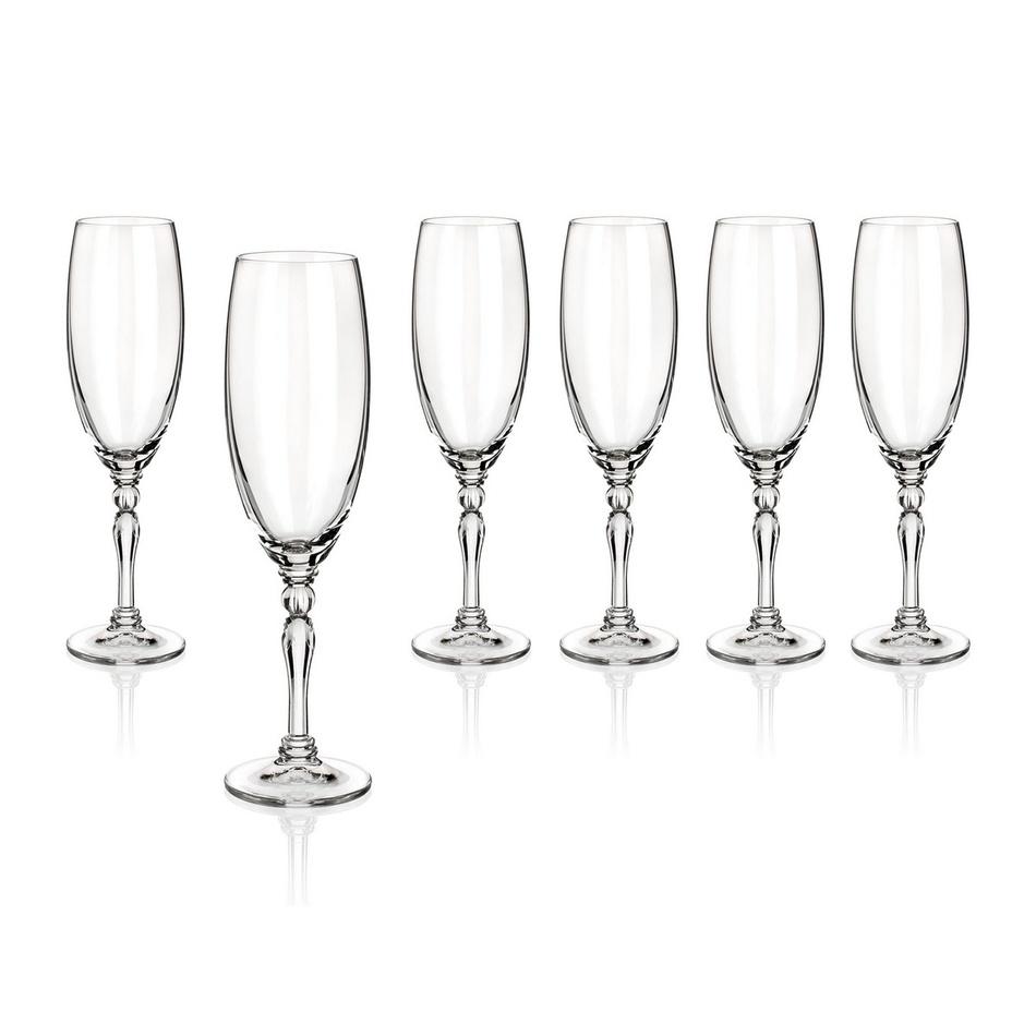 Banquet Crystal sklenice na šampaňské Lucille 190 ml, 6 ks