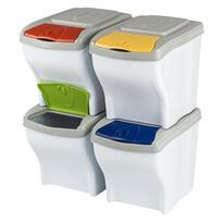 Orion Coşuri gunoi pentru deşeuri selectate 4 x 20 litri