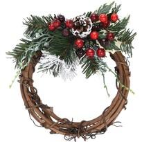 Couronne karácsonyi koszorú, átmérő:  20 cm