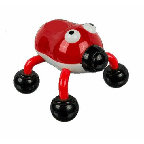 MODOM Masážní vibrační Brouk červený - BI 41