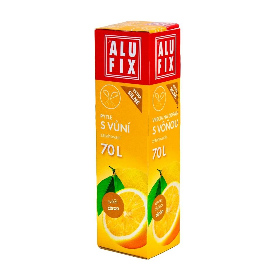 Alufix Pytle na odpad s vůní citrusů, 70 l