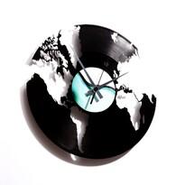 Discoclock 014 world nástěnné hodiny