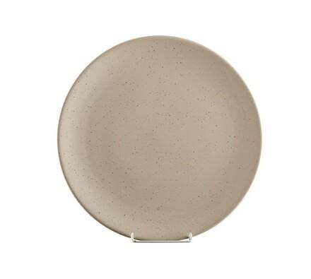 Mělký talíř, 6 ks, šedá, Banquet, šedá