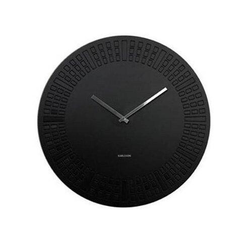 Karlsson 5265BK nástenné hodiny