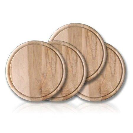 Banquet 4dielna sada drevených dosiek 22 cm,