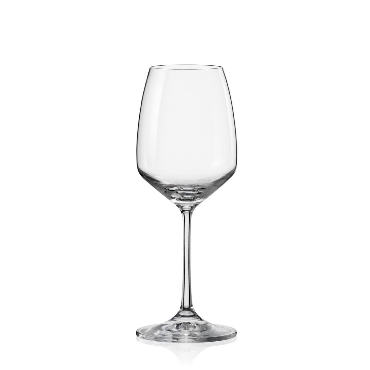 Crystalex 6dílná sada sklenic na víno GISELLE, 340 ml