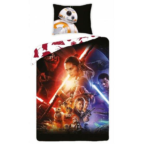 Star Wars 723 pamut ágynemű, 140 x 200 cm, 70 x 90 cm