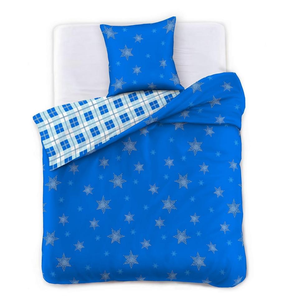 DecoKing Povlečení Star Gazer Blue, 135 x 200 cm, 80 x 80 cm