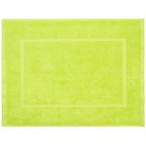 Prosop de baie pentru picioare Comfort verde, 50 x 70 cm