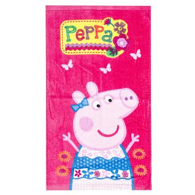 Dětský ručník Prasátko Pepina Pink, 30 x 50 cm