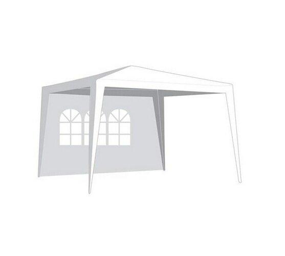 VETRO-PLUS Bočnice zahradního stanu s oknem-bílá