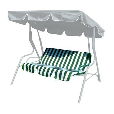 Poduszki Na Huśtawkę Ogrodową Stripy Zielone Paski