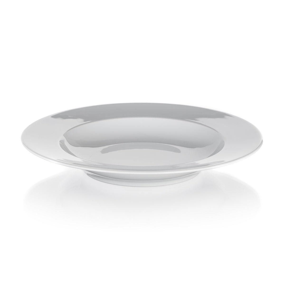 Banquet Talíř porcelánový hluboký RITA 22,5 cm, 6 ks, bílá