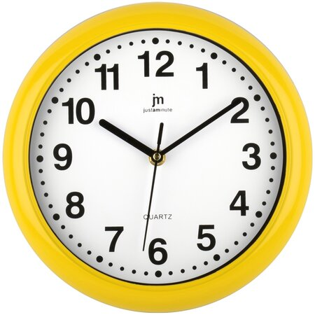 Lowell 00710Y Nástenné hodiny pr. 25 cm