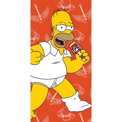 Osuška Homer 2015, 75 x 150 cm