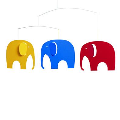 Kinet Elephant Party 35 cm, vícebarevný