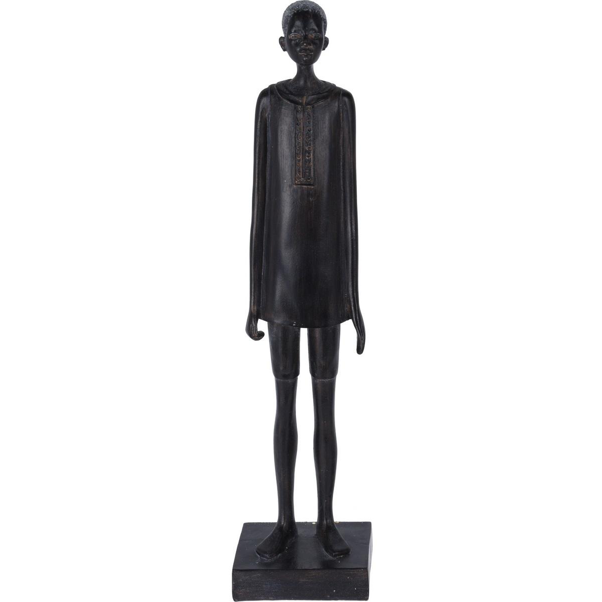 Koopman Dekorativní soška African man, 40 cm