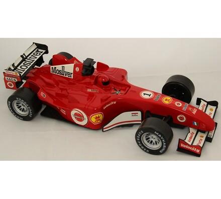 Závodní auto, červená