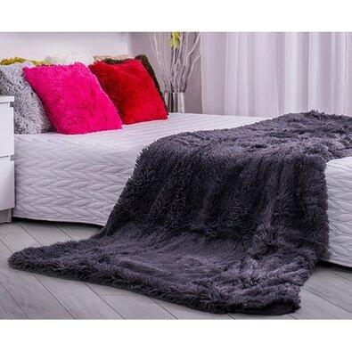 Domarex XXL Corona takaró/ágytakaró, szürke, 200 x 220 cm