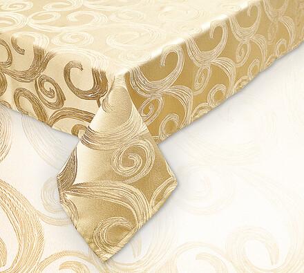Ubrus zlatý, 120 x 140 cm