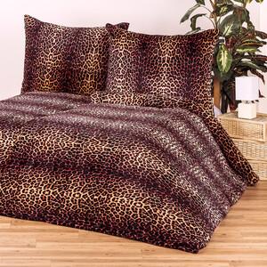 4Home povlečení mikroflanel Leopard, 140 x 200 cm, 70 x 90 cm