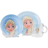 Mäser 3-dielna detská jedálenská súprava Frozen, Elsa