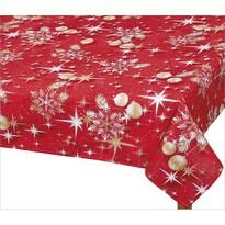 Bellatex Obrus Vianočné zlaté gule, 120 x 140 cm