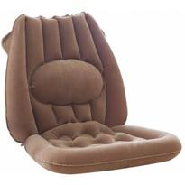 Nafukovací sedák s bedrovou opierkou, 52 x 49 cm