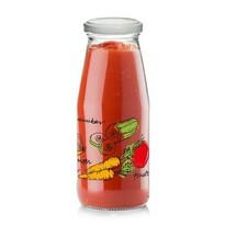 Cerve Skleněná láhev s víčkem ZELENINA 0,5 l, 6 ks