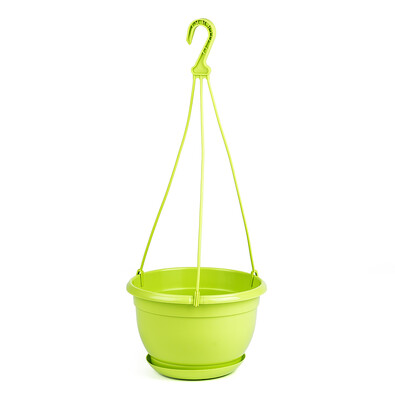 Plastový kvetináč Malta 24 cm, zelená