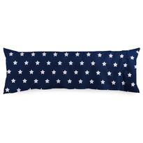 4Home Stars Navy Blue pótférj párnahuzat, 55 x 180 cm