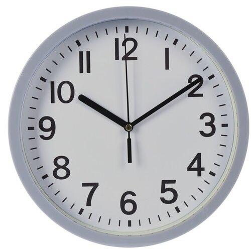 Nástenné hodiny Mackay sivá, 22,5 cm