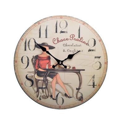 Nástěnné hodiny Chocolate HLC108017