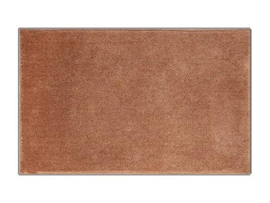 Koupelnová předložka Grund ROMAN, hnědá, 50 x 80 cm