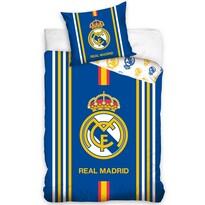 Pościel bawełniana Real Madrid Centro Amarillo, 140 x 200 cm, 70 x 80 cm