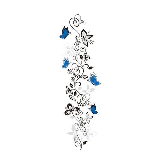 Samolepicí dekorace vášeň motýlů