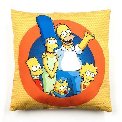 Polštářek The Simpsons, 40 x 40 cm